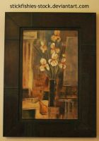 Framed Painting 2 by Stickfishies-Stock