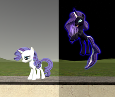 The Rare and The Nightmare by fusionguybrony