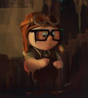 UP Study_Young Carl by Kaioshen