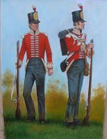 Soldiers of the 3rd Regiment of Foot by matej16