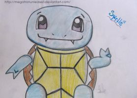 Squirtle, by MEGATRONUNLEASED