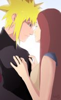 Minato and Kushina by Kobylkavpyzamu