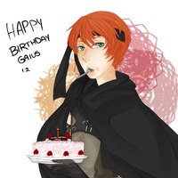 Happy Birthday Gaius!! by HawkeyedHSK