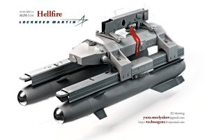 Hellfire missile system by technogene