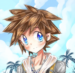KH - sora and roxas gif by peachmomo