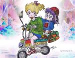Uneasy Riders by Dorothy-of-Oz