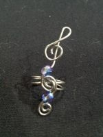 Sound of Music Ear Cuff by BacktoEarthCreations