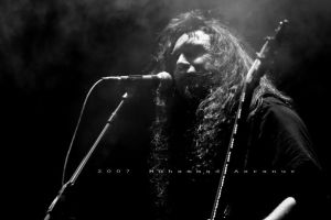 Tom Araya - BW by cantsaynotohope