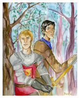 King and Lionheart by Birdie018