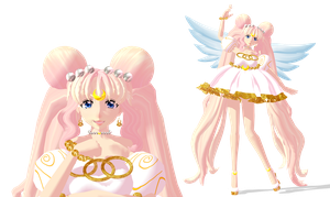 [MMD] Princess Serenity (Alt.design) by GumiCandy