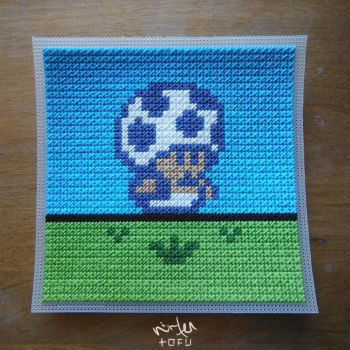 Super Mario 2 (USA) - Toadstool Stich Craft [raw] by nintentofu