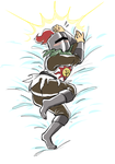 Solaire of Astora Waifu Pillow by Novacevia