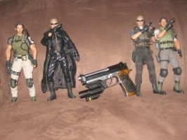 Hot Toys Albert Wesker and Chris Redfield by Demon-Lord-Cosplay