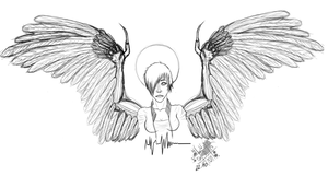Put me to sleep Evil Angel by Nupero