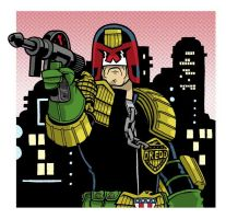 Judge Dredd by JoelRCarroll