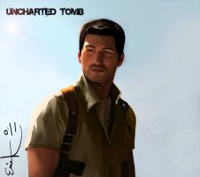Nathan Drake Concept Art by MrRabLo