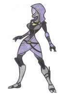 Tali'Zorah by fakefrogs