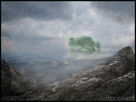Giant Mountain Frog by LostGambit