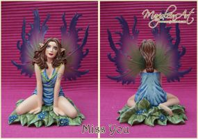 Figurines: Miss You by MarjoleinART