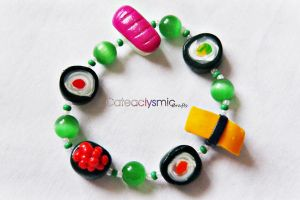 Sushi Bracelet by Cateaclysmic