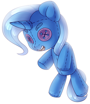 [MLP:FIM] The Great and Plushy Trixie by StarlyFlyGALLERY