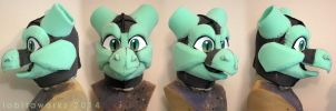 Dragon Headbase by LobitaWorks