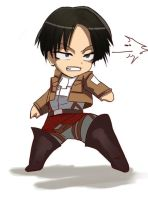 Commission - SNK chibi levi by mitgard-knight
