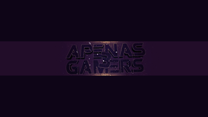 Banner Apenas 3 Gamers by StudioFTWz