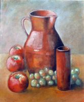 Still Life Oil Paint (2) by Boias