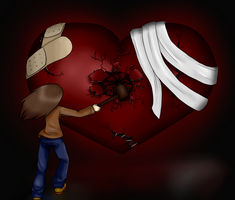 --I Broke My Heart-- by popolis