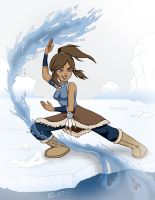 Bend It Like Korra by GlamourKat