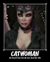 Catwoman Motivational (Updated) by TheRumbleRoseNetwork