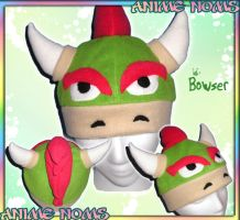 Bowser Hat by AnimeNomNoms