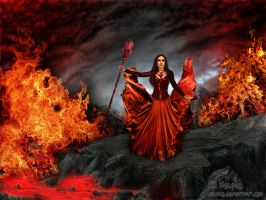 Fire Queen by adunio