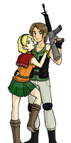 Carlos and Ashley by DoubleLeggy