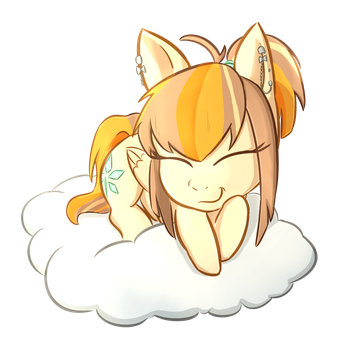 YCH sweet dreams: Autumn Topaz by foxhat94