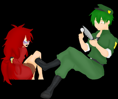 FLZ SV Flaky y Flippy. by Kill-Me-xD