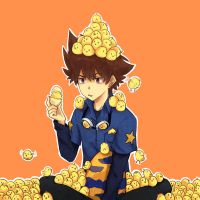 Taichi and the 82 Chicks by toritama
