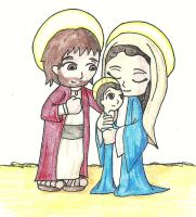 The Holy Family by SuperheroGeek13