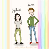 Guy Manuel and Thomas by nuttynachos