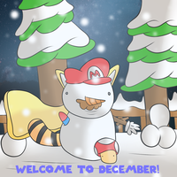 Welcome to December by thegamingdrawer