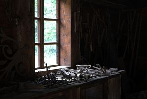 In an old smithy by Su58