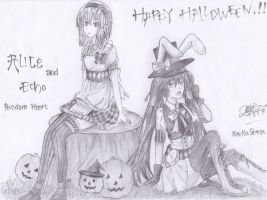 HAPPY HALLOWEEN...!! by XenNa-Scarlet