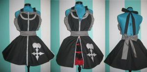 Organization XIII Nobody Inspired Cosplay Pinafore by DarlingArmy