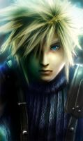 Cloud Strife -detail- by mandi-chan