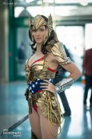 Original Art Deco Wonder Woman Cosplay by Vert-Vixen