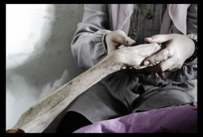 old woman hand 2 by tuanjojoss