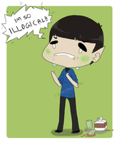 Chocolate is not for Vulcans by phillipant