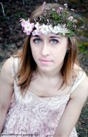 Flower Crown Photoshoot-Grace by Apeanutbutterfiend