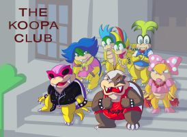 The Koopa Club by Ugh-first-aid